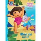 Giá Tô Màu Sáng Tạo Cùng Dora - Mùa Hè Vui Vẻ