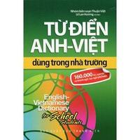 Từ Điển Anh-Việt Dùng Trong Nhà Trường 160.00 Từ