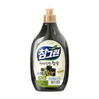 Nước rửa rau quả và chén bát CJ Lion Real Green tinh chất than hoạt tính