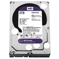 Ổ cứng HDD Western Digital 2TB Purple WD20PURX Series SATA3 for Camera