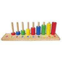 Đồ chơi gỗ Winwintoys 63112 - Học đếm bậc thang