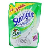 Nước Lau Sàn Sunlight Hương Hoa Hạ dạng túi 1-2.6kg