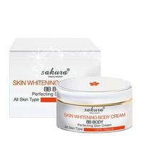 Kem dưỡng thể trang điểm trắng da Sakura Skin Whitening BB Body Cream 200g