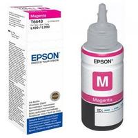 Mực in phun Epson C13T6643 dùng cho máy L100/L220/L310/L110/L210/L310/L360/L120/L1300/L550