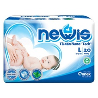 Tã Dán Newis Size L (9-13kg)