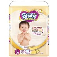 Tã dán Bobby Extra Soft Dry L58 (9-13kg)