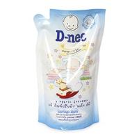 Nước xả quần áo D-nee Pure & Sensitive Cotton Soft 600ml (Trắng)