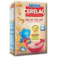 Bột ăn dặm Nestle Gạo Lức Sữa 200g (6-24 tháng)
