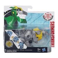 Mô hình Transformers - Robot Gold Armor Grimlock RID phiên bản biến đổi siêu tốc B3049/B0068