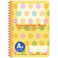 Sổ Klong Composition Book 899 A4