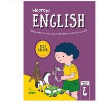 Hooray! English - Tiếng Anh Vừa Học Vừa Chơi Dành Cho Bé Từ 4-6 Tuổi (Activity Book 1-4)