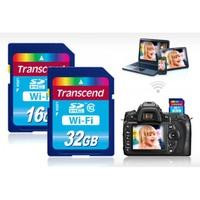 Thẻ nhớ SDHC Transcend 16GB Wi-Fi Class 10