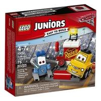 Mô hình Lego Juniors 10732 - Trạm sửa chữa của Guido và Luigi