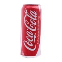 Nước ngọt Coca Cola có ga lon 330ml