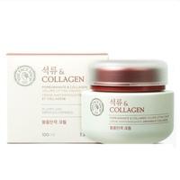 Kem Dưỡng Mắt Giúp Da Săn Mịn TheFaceShop Pomegranate And Collagen Volume Lifting Eye Cream 50Ml