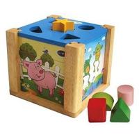 Đồ chơi gỗ Winwintoys 69022 - Hộp Xếp Hình Thả Khối