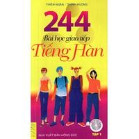 244 Bài Học Giao Tiếp Tiếng Hàn (Tập 1-2)