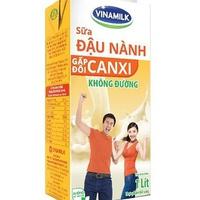 Sữa đậu nành Vinamilk gấp đôi Canxi hộp 1L