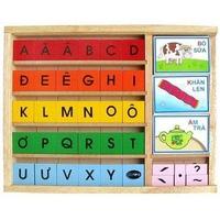 Đồ chơi gỗ Winwintoys 60312 - Bộ học vần