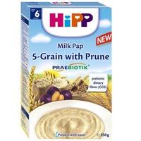 Bột dinh dưỡng Hipp ngũ cốc tổng hợp, mận tây 250g 6m+