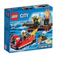Mô Hình LEGO City Fire 60106 Bộ Cứu Hỏa Khởi Đầu
