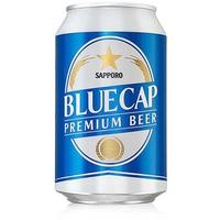 Bia Sapporo Blue Cap lon 330ml