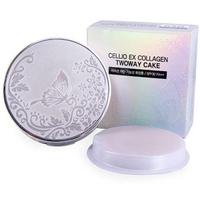 Phấn Phủ Siêu Mịn Cellio Ex Collagen Twoway Cake SPF 30 PA+++