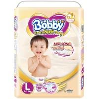 Tã dán Bobby Extra Soft Dry L30 (9 - 13Kg)