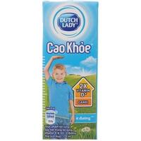 Sữa tiệt trùng Dutch Lady ít đường 170ml