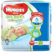 Miếng lót sơ sinh Huggies NB1 100 miếng (0-5kg)