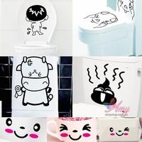 Decal trang trí Toilet