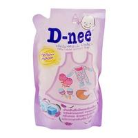 Nước giặt xả quần áo D-nee Yellow Moon 600ml (Tím)