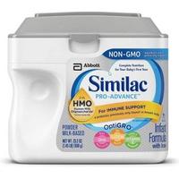 Sữa Similac Pro Advance Non GMO - HMO từ 0-12 tháng 658g
