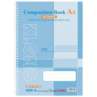 Sổ Klong Composition Book 394M A4