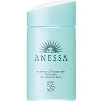 Tính Chất Chống Nắng Cho Da Nhạy Cảm Và Trẻ Em Anessa Essence UV Sunscreen Mild Milk SPF35, PA+++ - 60ml