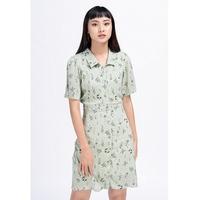 Đầm Sơ Mi Tay Ngắn Lilya 02DRE2124