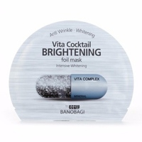 Mặt Nạ Dưỡng Da Trắng Mịn Banobagi Vita Cocktail Brightening Foil Mask Intensive Brightening 30ml