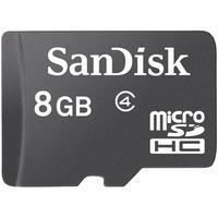 Thẻ nhớ MicroSDHC SanDisk Class 4 8GB