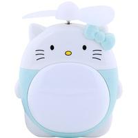 Quạt tích điện mini UBS để bàn kitty