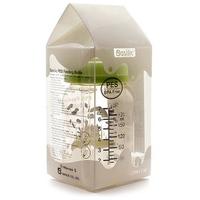 Bình sữa Basilic nhựa cổ rộng size S 180ml