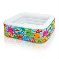 Bể bơi Intex hình vuông hoa van