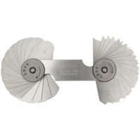 Dưỡng đo bán kính Mitutoyo 186-106 7.5 15mm 32lá