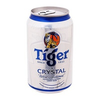 Bia Tiger bạc Crystal lon 300ml
