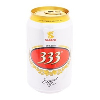 Bia 333 Export lon 330ml