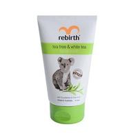 Sữa rửa mặt Rebirth dành cho da nhờn tinh chất trà xanh và trà trắng 100ml