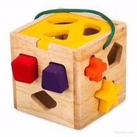 Đồ chơi gỗ Winwintoys 62022 - Giỏ thả 12 khối