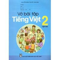 Vở Bài Tập Tiếng Việt Lớp 2 (Tập 1-2)
