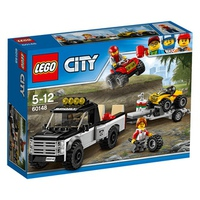 Mô Hình Lego City 60148 - Đội Đua Xe Địa Hình