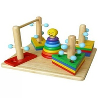 Đồ chơi gỗ Winwintoys 65072 - Đường Luồn Lý Thú