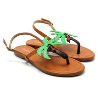Giày Sandals Nữ Đế Bệt Cindydrella C133